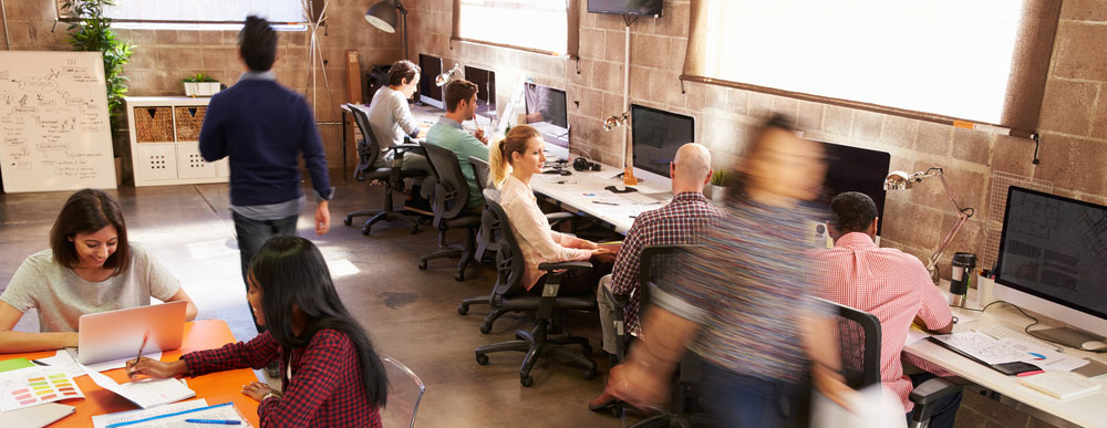 The Growing Trend Of Hot Desking In Canadian Offices