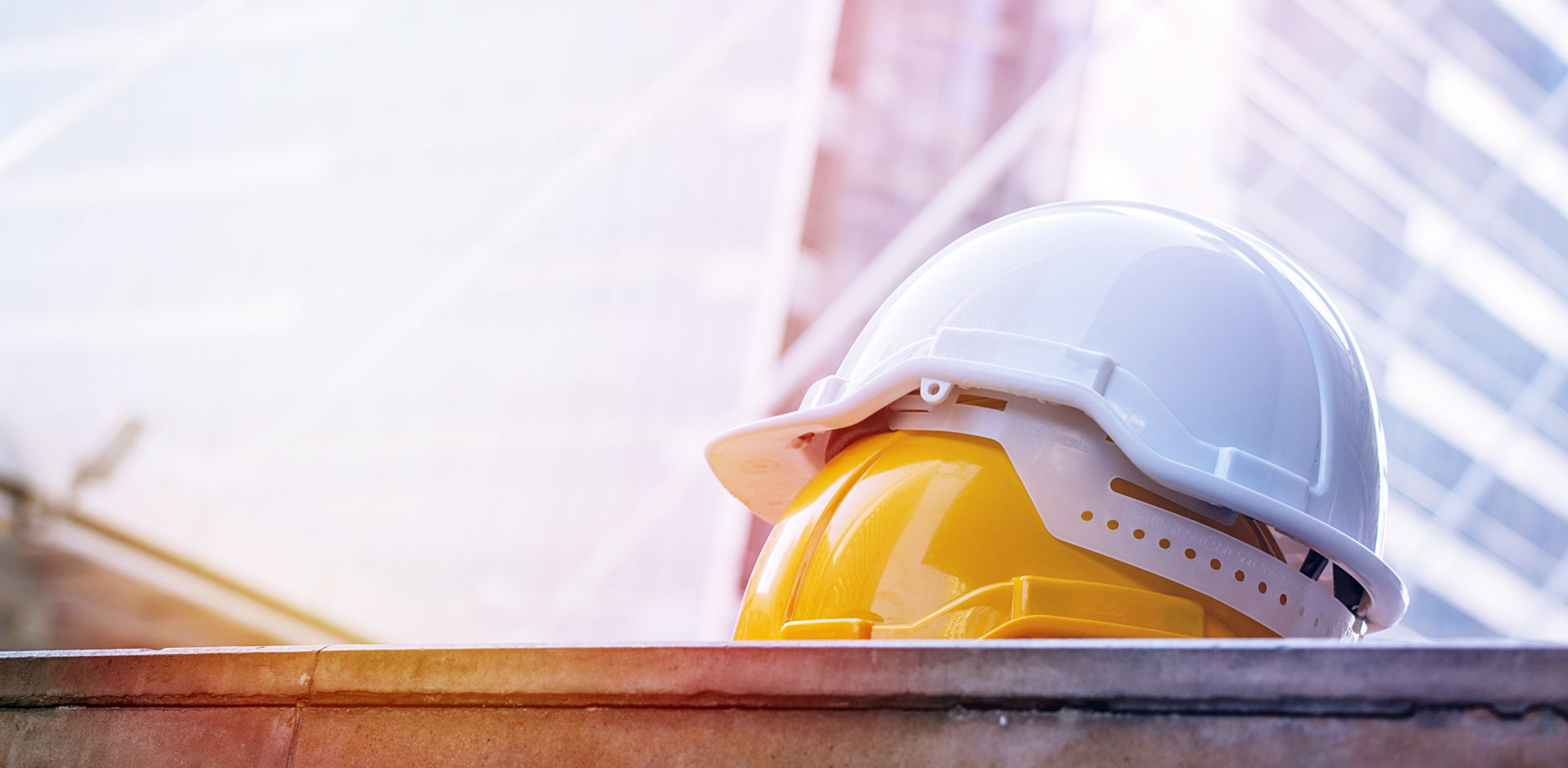 A construction hat representing safety