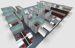 An image of an office space that was created using virtual reality .