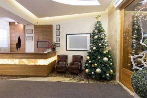 Decorating your office for the holidays / end of year